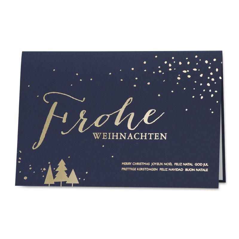Weihnachtskarte im festlichlen Glanz (868.058) | Büromac