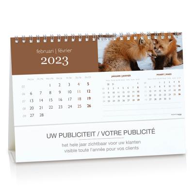 Calendrier de bureau avec aperçu de 3 mois (084.002)
