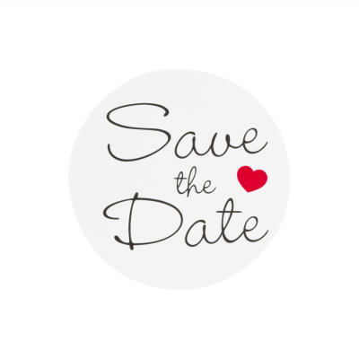 Timbre de scellage Save the date (176.105)