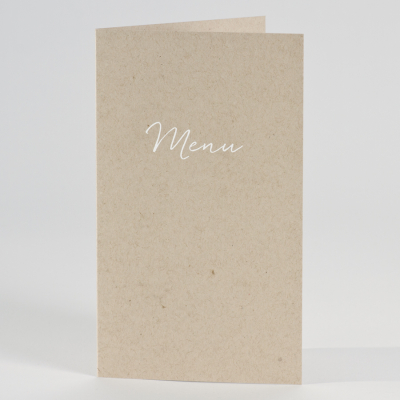 "Menu mariage ""écolochic"" (206.037)"