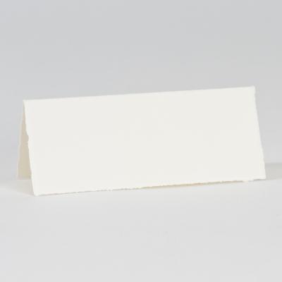 Marque-place ivoire bords déchirés (303.050)