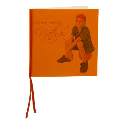 Carte carré calque orange (313.023)