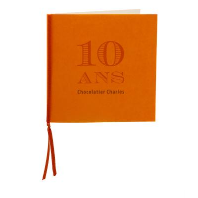 Carte carrée calque orange (313.025)
