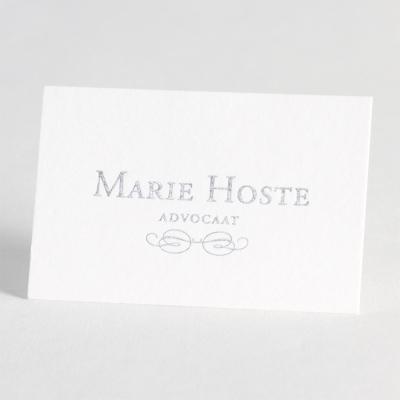 Petite carte 8.5 x 5.5 cm - BLANC 285g (333.001)