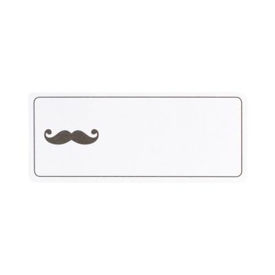 Etiquette adresse monsieur moustache (575.208)