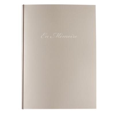 Registre de condoléances classique - En Mémoire (610.056)