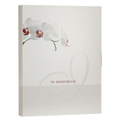 Boîte deuil orchidée grand format  (610.112)