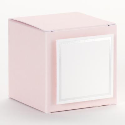 Joli cube rose dragée (714.034)