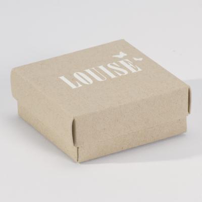 Ecrin papier recyclé avec couvercle (725.102)