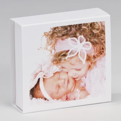 Boîte tiroir blanche personnalisable (727.032)