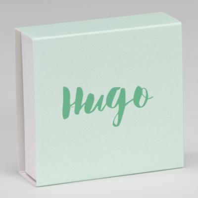 Boîte tiroir vert d'eau  (727.035)