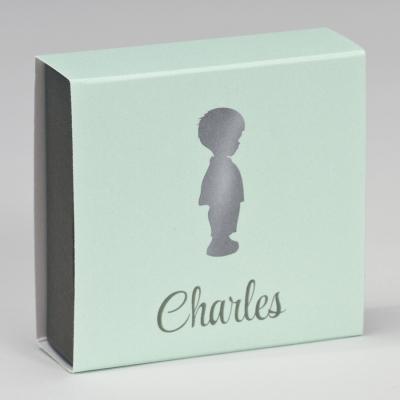 Boîte tiroir silhouette garçonnet  (727.091)
