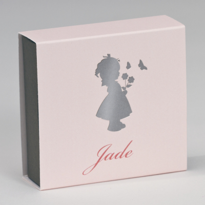 Boîte tiroir silhouette fillette (727.092)