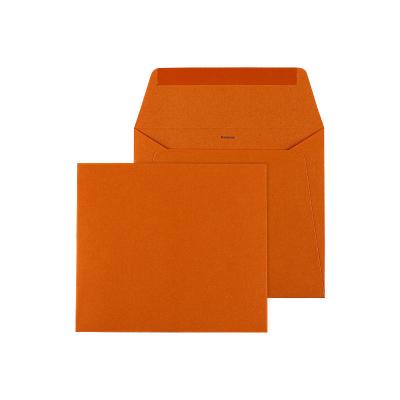 Oranje vierkante envelop (099.006)