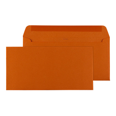 Oranje rechthoekige envelop (099.007)