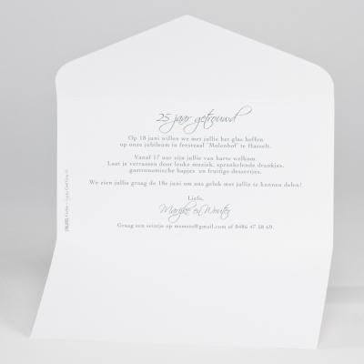 Sierlijke pochettekaart met parelhart (106.002JUB)