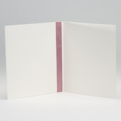 Oud-Hollandse trouwaankondiging met roze lint (106.102)