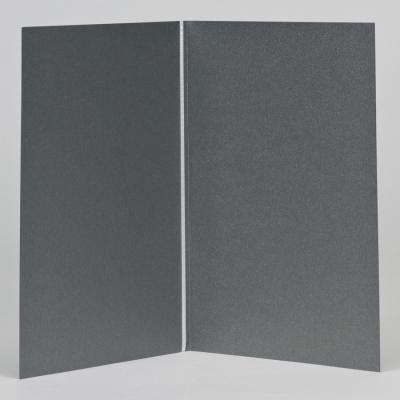Staalgrijs kaftje voor misboekje JA (148.914)