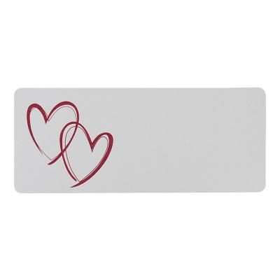 Adresetiket met rode harten (173.209)