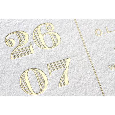 Langwerpige kaart - CREME 800 gr (333.022)