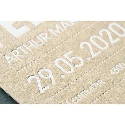 Langwerpige kaart - ECO 630 gr (333.032)