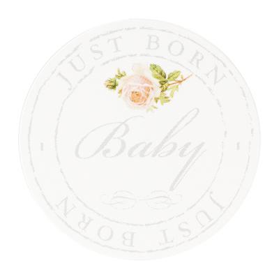 Vintage sluitzegel Baby Just Born (574.109)