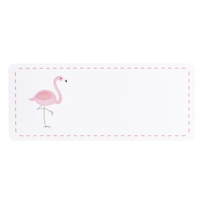 Adresetiket roze flamingo (576.208)