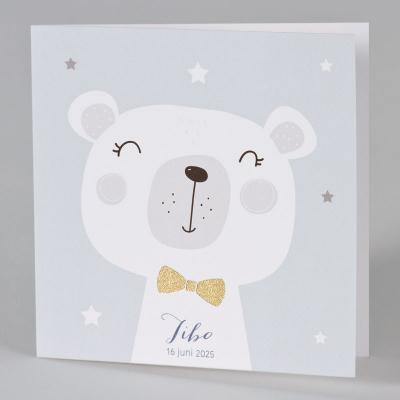 Teddybeer met glanzende strik (589.072)