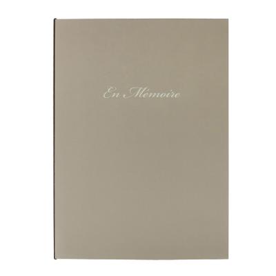 Rouwregister Goldline met sfeervol beeldmateriaal - En Mémoire  (610.055)