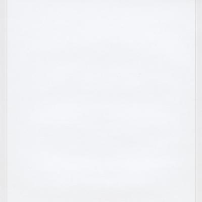 Enkele rouwbrief blanco wit met grijs kader (620.062)