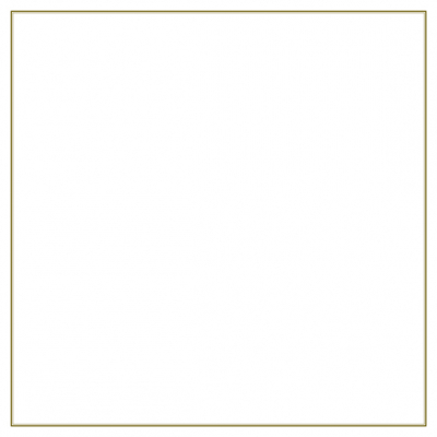 Dubbele plano rouwbrief met dubbele bruine rand (636.902)