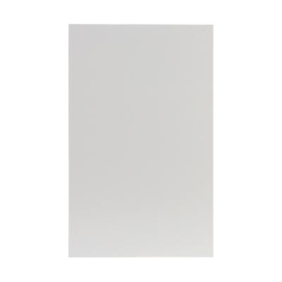 Dubbele rouwkaart blanco crème in coupon van 2 (640.004)