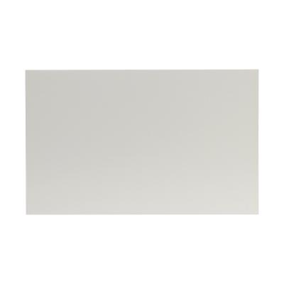 Dubbele rouwkaart blanco crème in coupon van 2 (640.006)