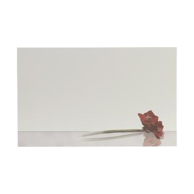 Dubbele rouwkaart met amaryllis in coupon van 2 (640.020)