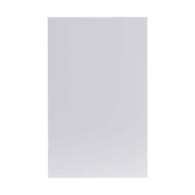 Dubbele rouwkaart blanco wit in coupon van 2 (640.060)