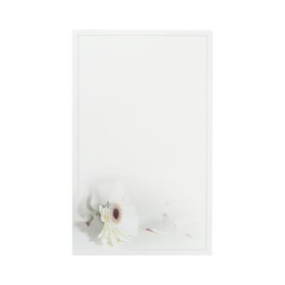 Dubbele rouwkaart met witte gerbera (642.095)