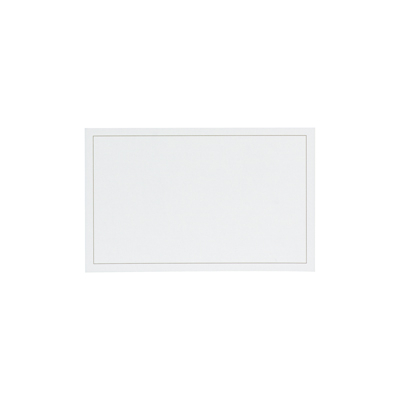 Dankkaart / deelnemingskaart met grijs kader (670.114)