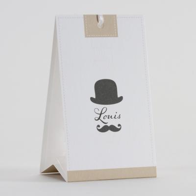 Snoepzakwikkel monsieur moustache (744.069)