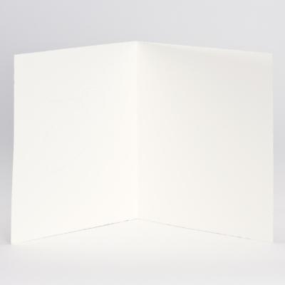 """Cremefarbige Jubiläumskarte aus Büttenpapier mit """"25"""" in Silber (106.312)"""