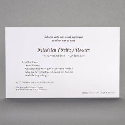 Blanko Einzelkarte (641.061)