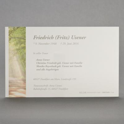 Einzelkarte mit Waldlichtung (641.148)