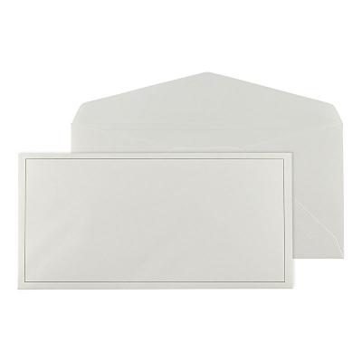 Enveloppe ivoire 22 * 11 cm (068.059)