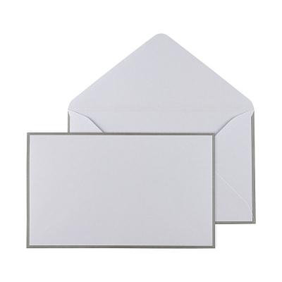 Enveloppe blanche 19.5 * 12 cm (069.012)