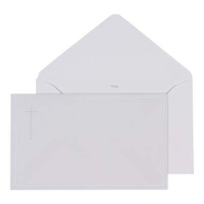 Enveloppe grise 19.5 * 12 cm (069.020)
