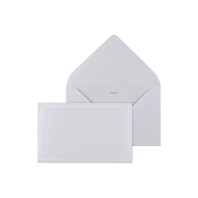 Enveloppe grise 14 * 9 cm (069.034)