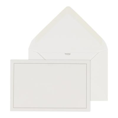 Enveloppe ivoire gommée 14 * 9 cm (069.038)