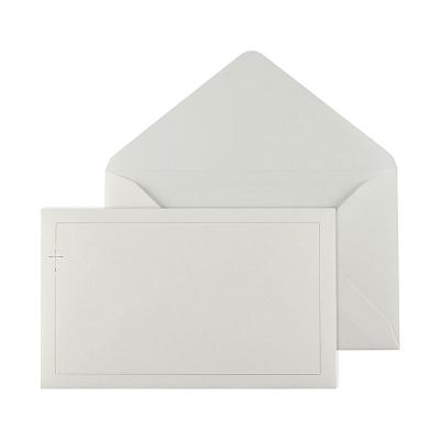 Enveloppe ivoire 19.5 * 12 cm (069.040)