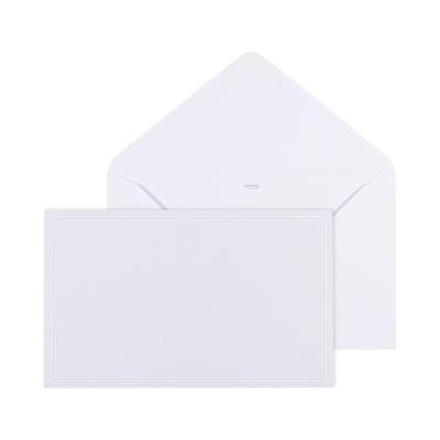 Enveloppe grise gommée 19.5 * 12 cm (069.061)