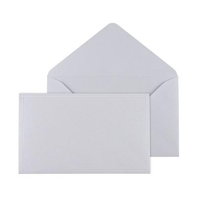 Enveloppe grise 19.5 * 12 cm (069.062)