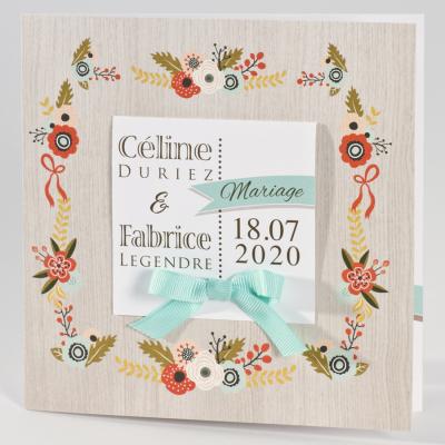 Faire-part champêtre  (106.035)